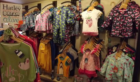 Children's Clothes at Bickleigh Mill