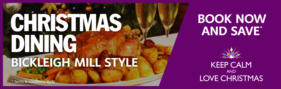 christmas dining banner